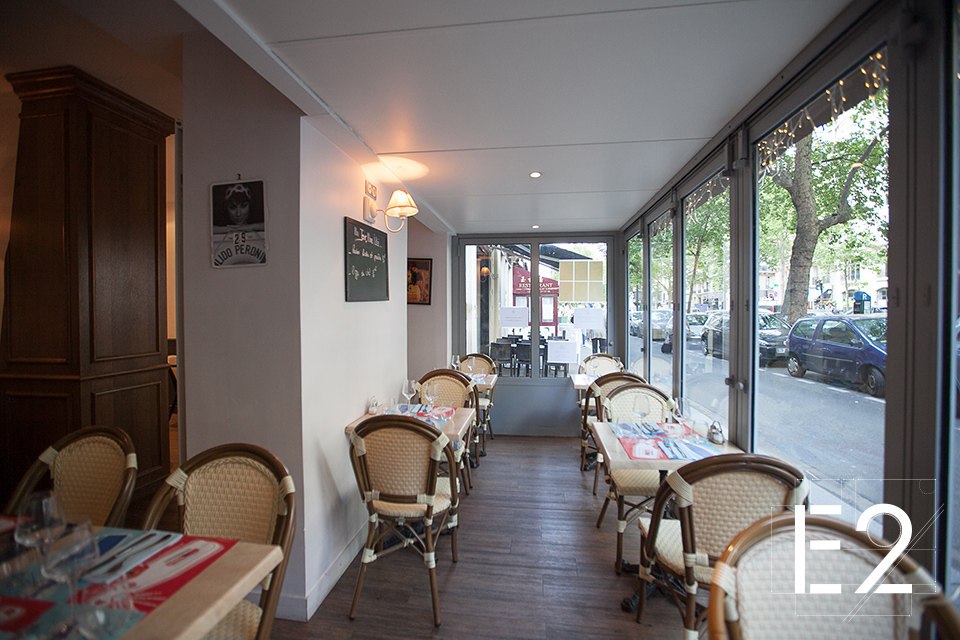 conception interieur brasserie epsilon2 paris