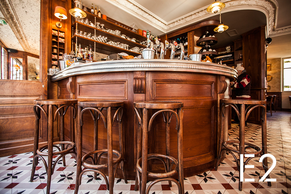 design interieur bar vin epsilon2 paris