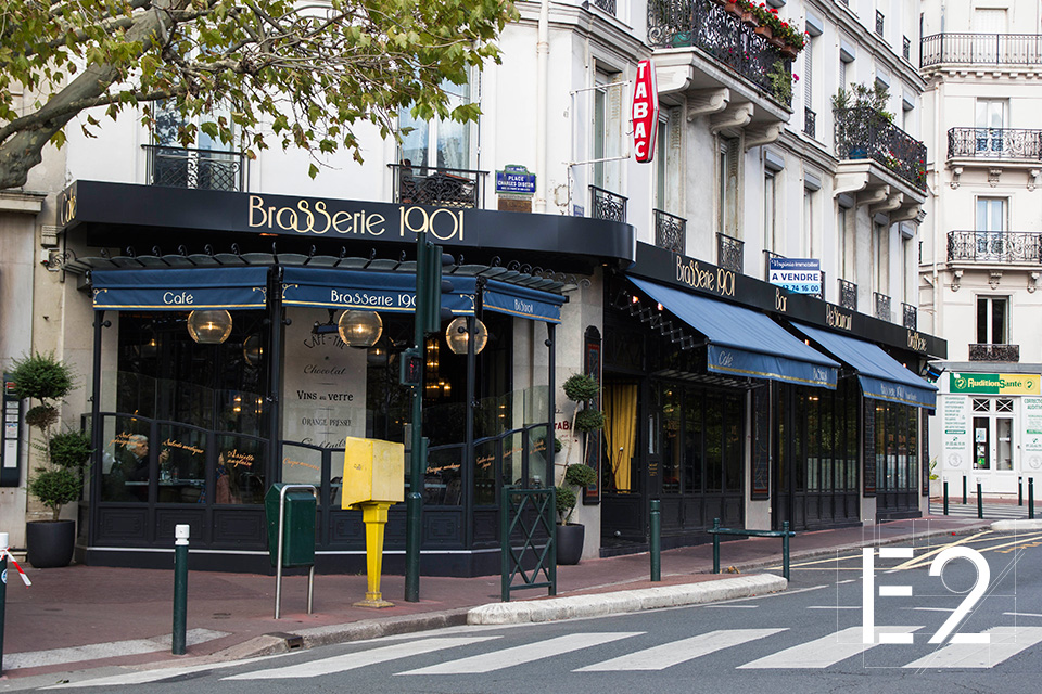 amenagement facade restaurant epsilon2 paris