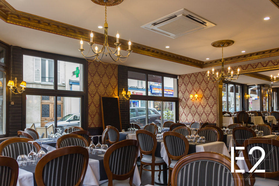 rénovation restaurant italien epsilon2 paris